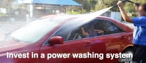 Increase Profit by Cleaning cars