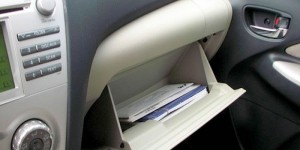 Used Car Glove Box Marketing